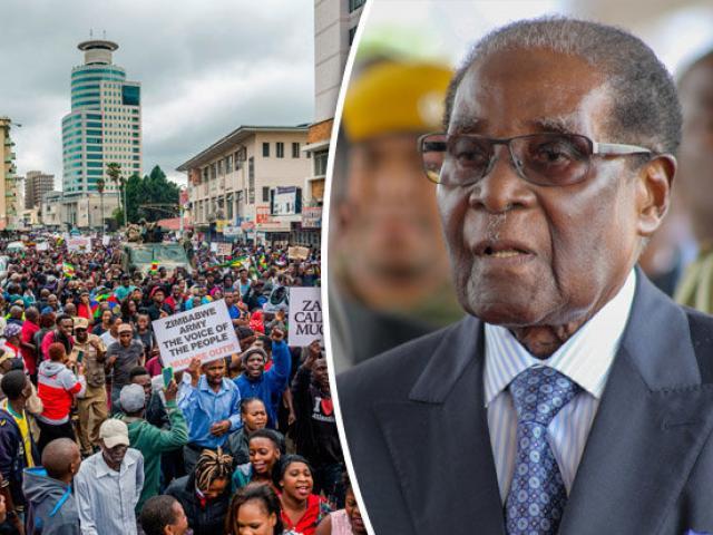 Tổng thống Zimbabwe biến mất khỏi dinh thự trong khi bị quản thúc