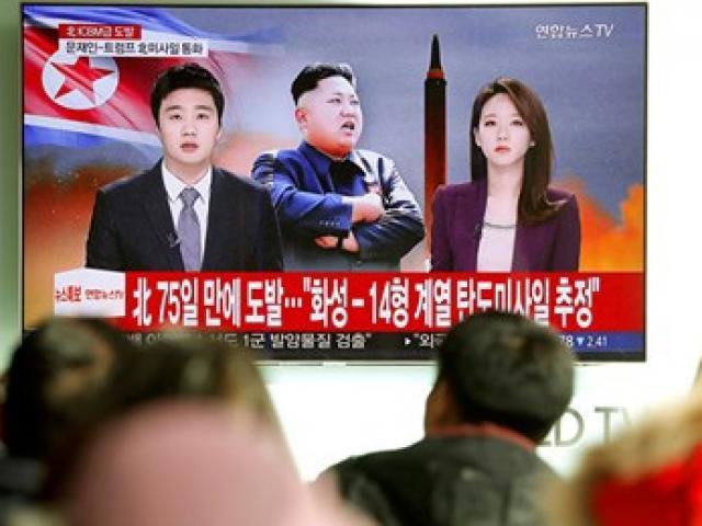 Tên lửa đạn đạo Triều Tiên vừa phóng bay cao gấp 10 lần Trạm vũ trụ ISS