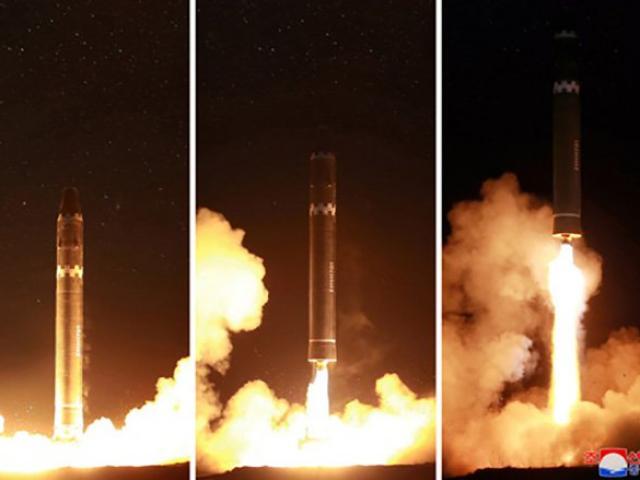 Triều Tiên khoe ảnh khác lạ của tên lửa mạnh chưa từng có