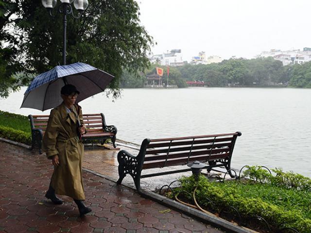 Ngày mai (27/12), Hà Nội chuyển mưa rét, nhiệt độ thấp nhất 13 độ C