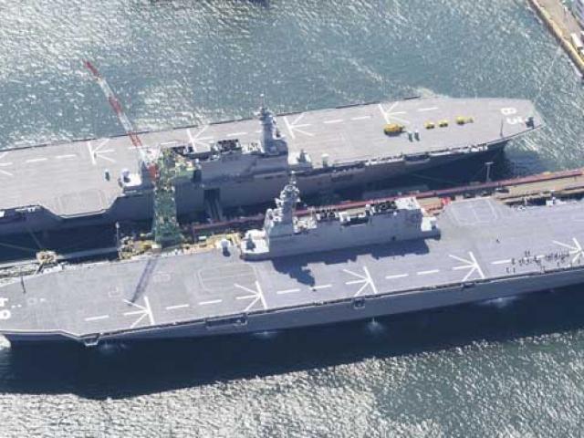 Nhật Bản biến tàu chiến thành tàu sân bay, TQ giật mình?