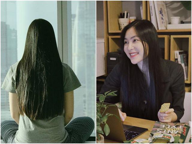 """""""Suối tóc"""" đẹp như mơ của """"ngọc nữ"""" showbiz Việt"""