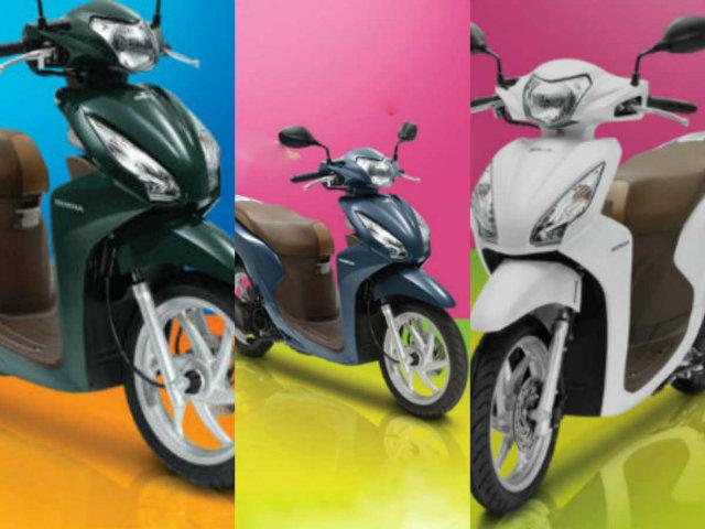 Honda Vision ra 3 màu mới, có tính năng HOT, giá từ 29,99 triệu đồng