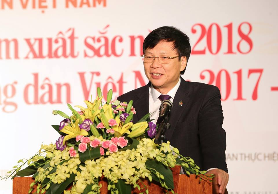 le trao giai bao chi toan quoc tu hao nd viet nam 2017- 2018 hinh anh 8