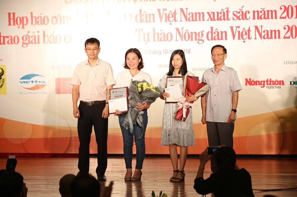 le trao giai bao chi toan quoc tu hao nd viet nam 2017- 2018 hinh anh 16