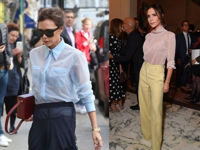 Victoria Beckham chăm mặc áo mỏng như giấy vẫn đẹp do đâu?
