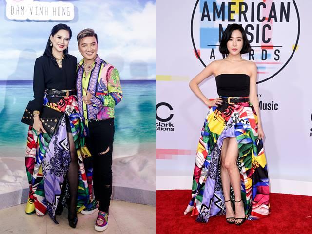 Mẹ chồng Tăng Thanh Hà đẹp lấn át mỹ nhân thế giới khi mặc chung váy