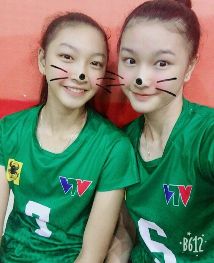 Cặp chị em bóng chuyền Việt Nam: Sắc nước hương trời, tài năng thiên phú - Ảnh 10.