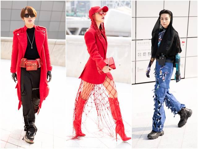 Chào sân Seoul Fashion Week, tín đồ Việt gây chú ý với màu rực