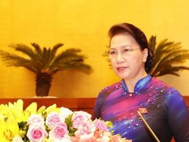 Chủ tịch Quốc hội Nguyễn Thị Kim Ngân đạt tỉ lệ tín nhiệm cao nhất