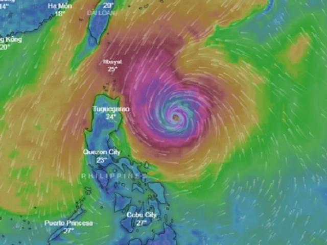 Siêu bão Yutu giật trên cấp 17 đang di chuyển nhanh về phía Biển Đông