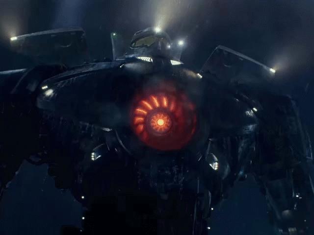 Robot với buồng điều khiển ở giữa ngực như trong phim giả tưởng