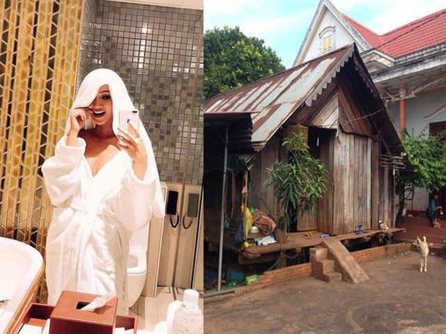 Nhà ở quê và nơi ở hiện tại của Hoa hậu H'Hen Niê khác một trời một vực