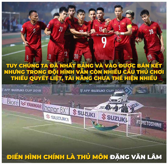 loat anh che doi tuyen viet nam sau vong bang aff cup 2018 hinh anh 1