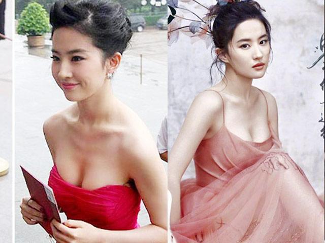 Lưu Diệc Phi sở hữu hình mẫu vòng 1 lý tưởng nhất xứ Trung
