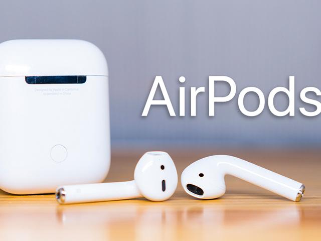 Tai nghe không dây Apple AirPods 2 sẽ ra mắt vào đầu năm tới