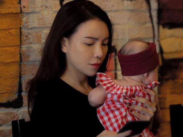 Trà Ngọc Hằng bí mật sinh con 4 tháng tuổi, thừa nhận làm mẹ đơn thân