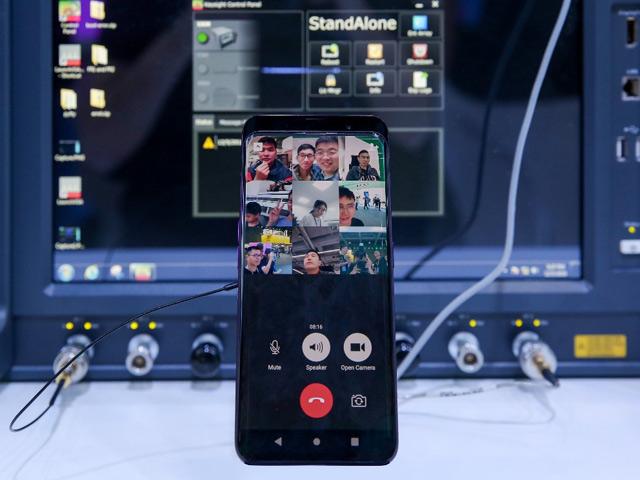 Lộ smartphone Oppo Find X đầu tiên kết nối thành công mạng 5G