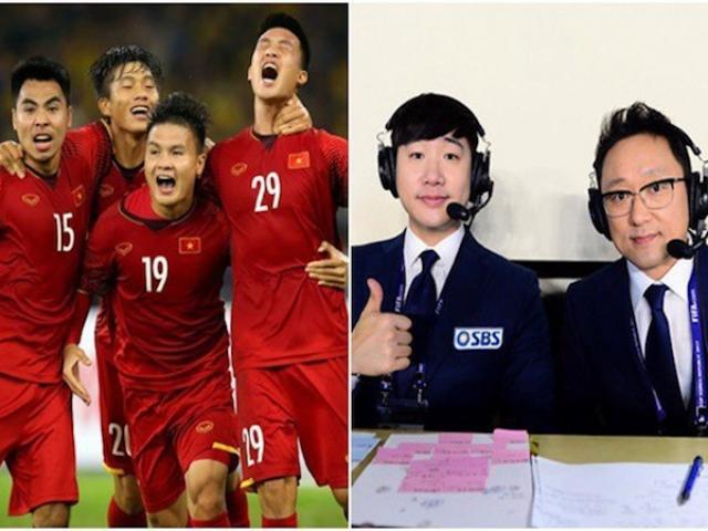 Vì sức hút của ĐT Việt Nam, truyền hình Hàn Quốc làm điều chưa từng có trong lịch sử