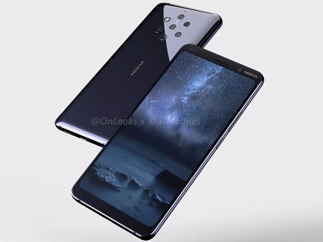 Ba biến thể Nokia 9 PureView đã được chứng nhận, đẹp và độc