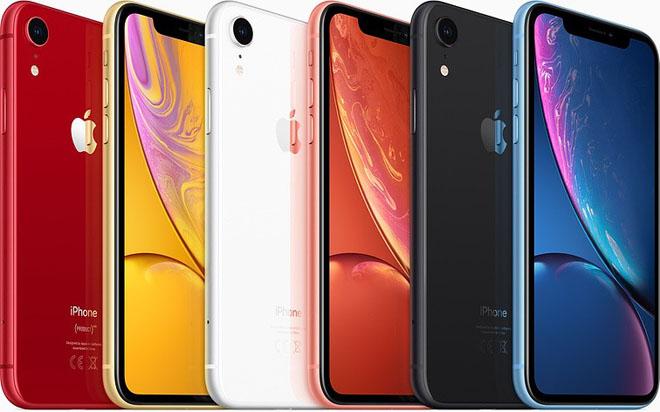 so sánh iphone xr và iphone 8 plú