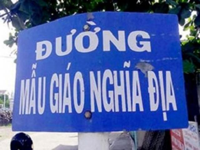 """""""Giải mã"""" những tên đường lạ lùng, khó hiểu nhất Việt Nam"""