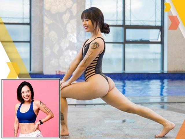 """""""Nữ hoàng phòng gym Hà thành"""" chỉ cách tập xoá nỗi lo bụng hình vuông"""