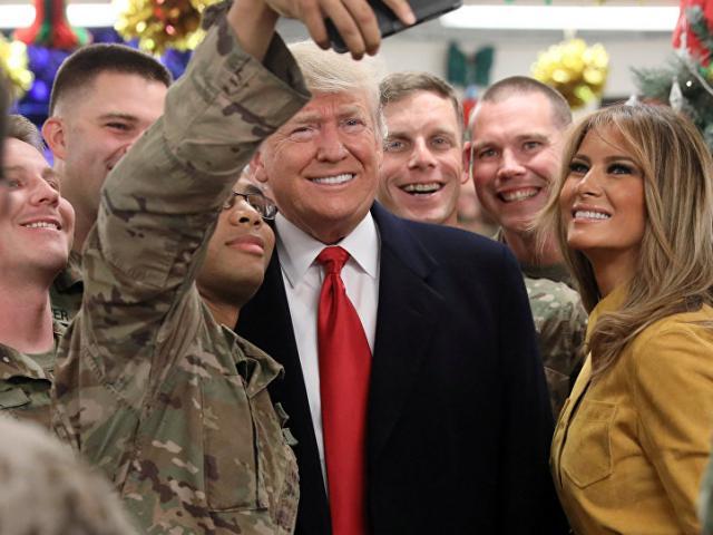Trump bất ngờ thăm Iraq, lần đầu xuất hiện ở điểm nóng chiến tranh