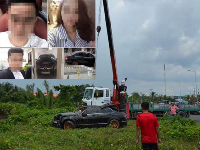 Vụ 3 thi thể trong xe Mercedes dưới rạch: Nạn nhân làm gì trước thời điểm gặp nạn?