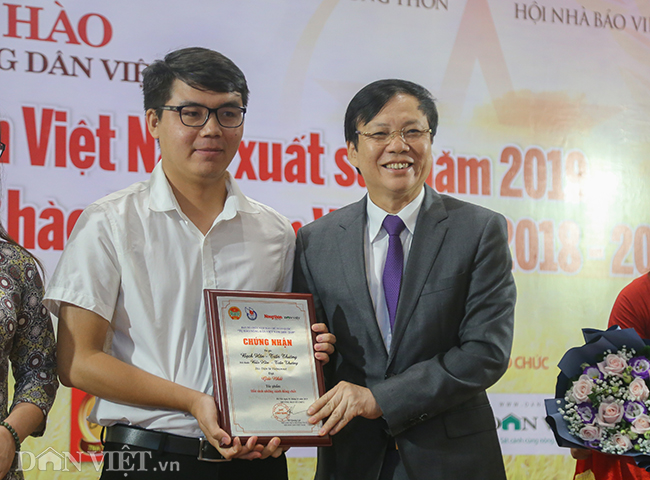 anh: toan canh le trao giai bao chi toan quoc thndvn 2018 - 2019 hinh anh 9