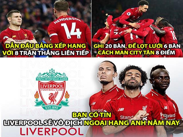 """Ảnh chế: Liverpool cho Man City """"hít khói"""", fan MU cay đắng"""