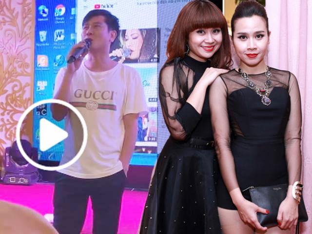 Hồ Hoài Anh đeo nhẫn cưới phát biểu trong ngày giỗ ba Lưu Hương Giang, chị vợ nói một câu duy nhất