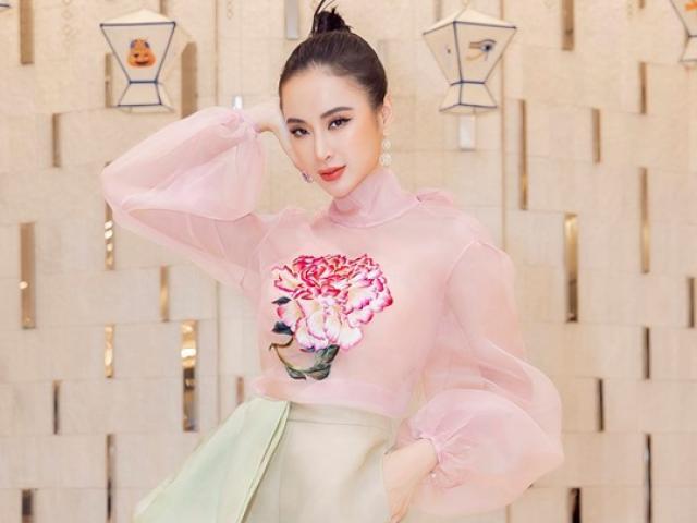 Angela Phương Trinh mặc áo xuyên thấu mỏng manh mà vẫn tinh tế, nhờ đâu?