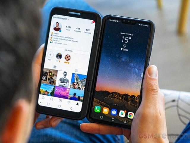"""LG V50 ThinQ, Dual Screen 2 màn hình, """"đỉnh"""" gấp bội Galaxy Fold"""