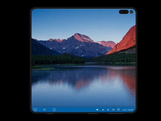 Độc đáo ý tưởng Surface Note đẹp mắt hơn Surface Duo