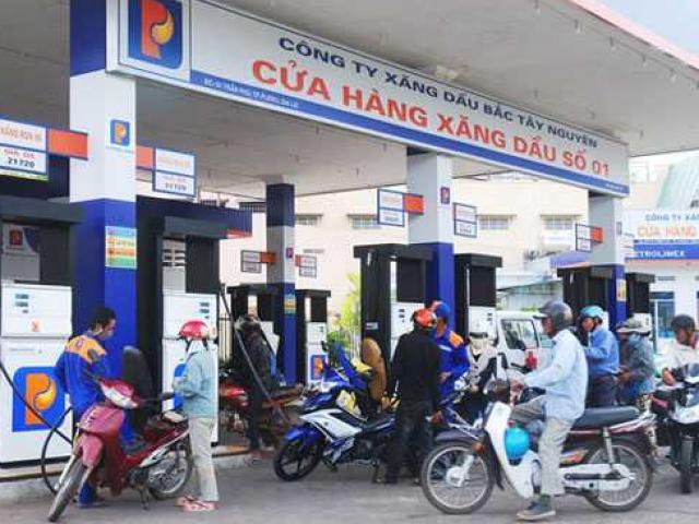 Giá xăng dầu tăng trở lại sau hai ngày giảm liên tiếp