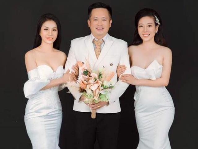 """Thực hư đám cưới """"1 ông 2 bà"""" gây xôn xao mạng xã hội Việt"""