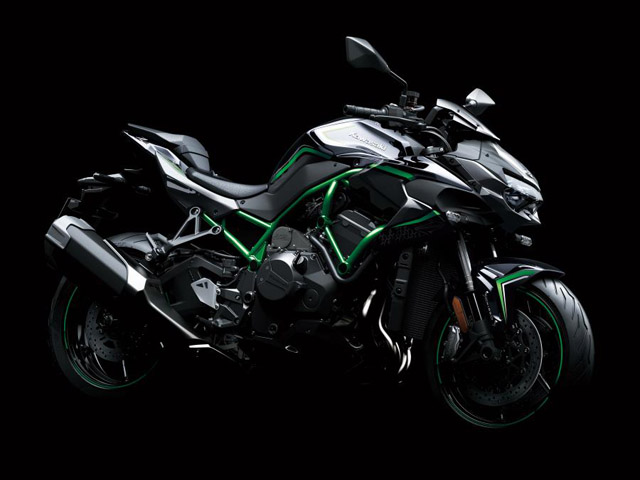 Ra mắt Kawasaki Ninja Z H2, khẳng định đẳng cấp siêu mô tô