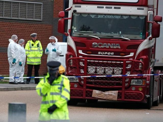 39 công dân Trung Quốc chết trong xe containter ở Anh: Bắc Kinh nói gì?
