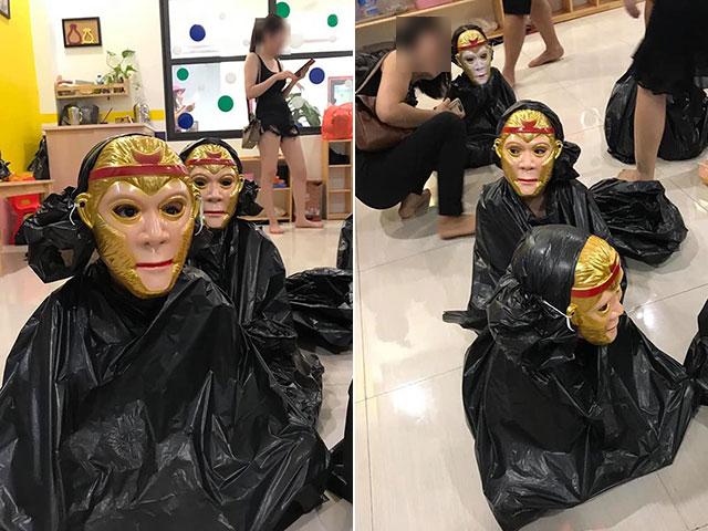 Khi cô giáo mê Tôn Ngộ Không tổ chức Halloween ở trường mầm non