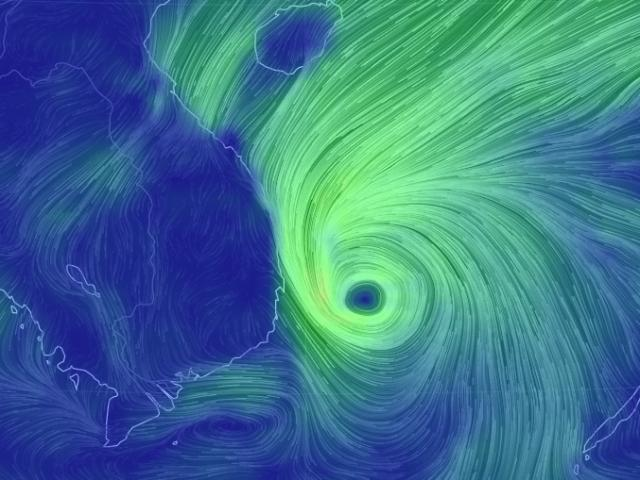 Thông tin mới nhất về bão số 5 Matmo đang hướng vào Nam Trung Bộ