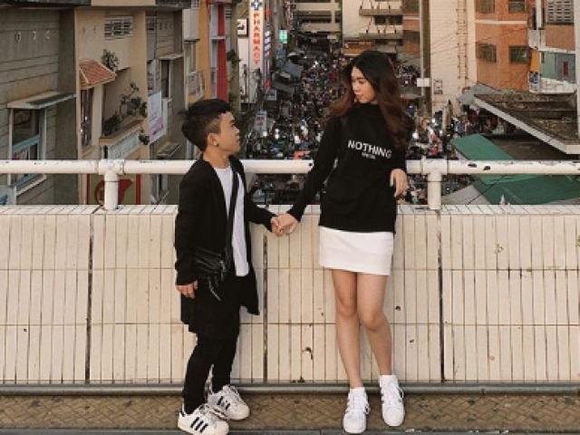 Báo Trung khen nức nở chuyện tình của chàng lùn Việt Nam và bạn gái xinh như mộng