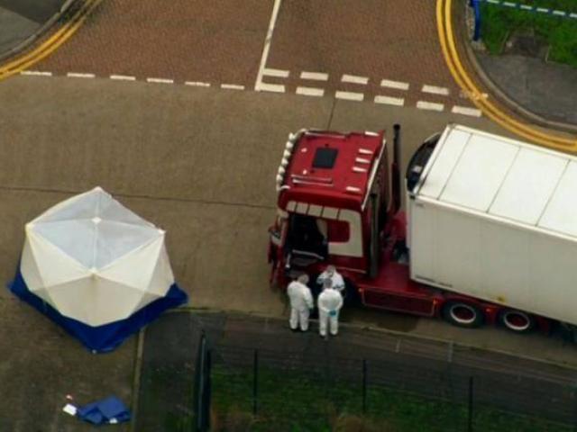 Vụ 39 người chết ở Anh: Cảnh sát Essex công bố tuổi, trẻ nhất mới 15
