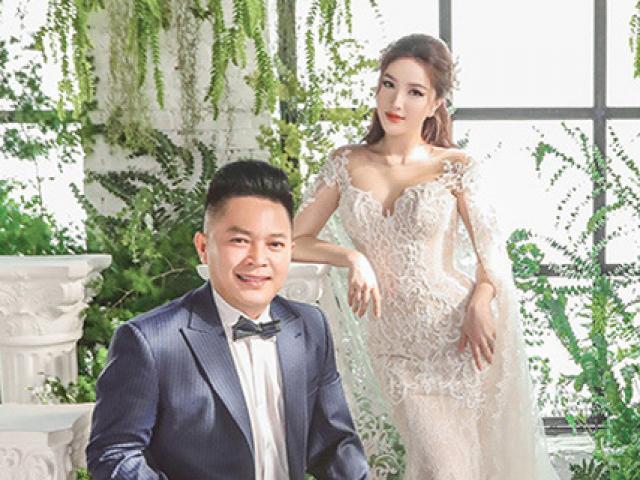 """Lộ ảnh cưới của hôn phu đại gia gốc Hà Tĩnh với """"công chúa bong bóng"""" Bảo Thy"""