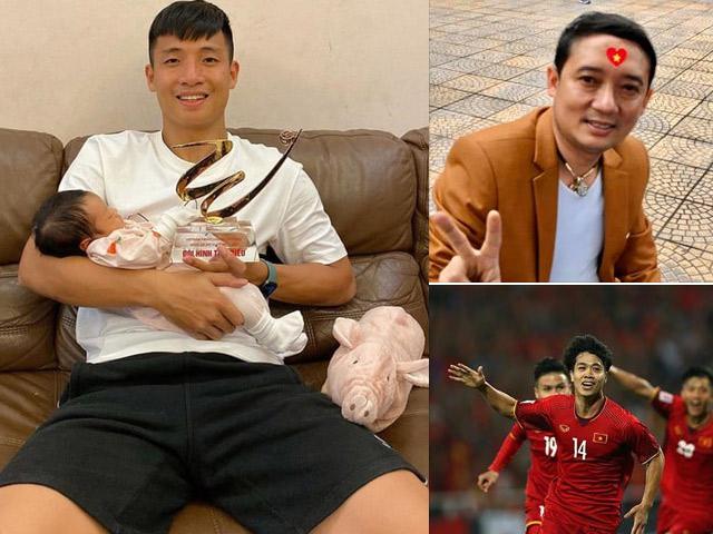 Trước trận VN-UAE: Cầu thủ, sao Việt tăng năng lượng theo cách đặc biệt