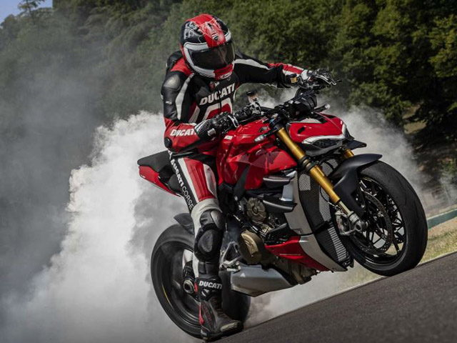 Ducati Streetfighter V4 xứng đáng với danh hiệu mô tô máy đẹp nhất tại EICMA 2019