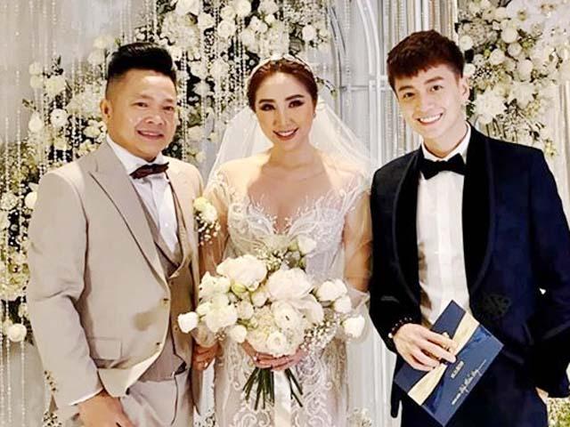 Bảo Thy mặc gợi cảm trong đám cưới sang chảnh 6 sao với chồng đại gia