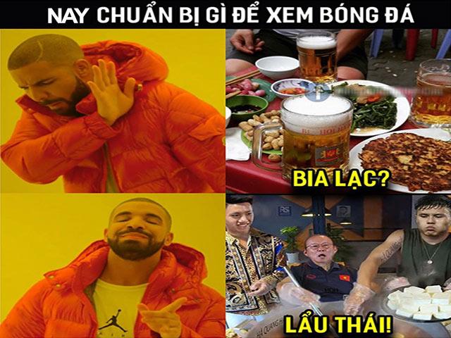 Dân mạng đua nhau chế ảnh hài hước trước đại chiến Việt Nam - Thái Lan