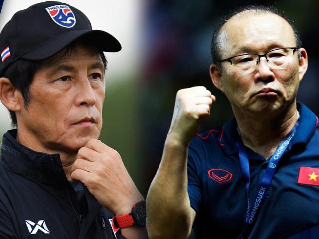 """So kè mức lương của """"thầy Park"""" và HLV tuyển Thái Lan: Ai cao hơn?"""
