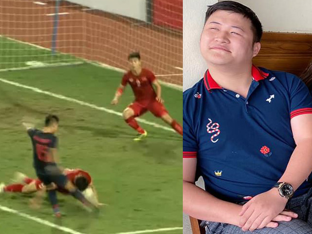 Văn Hậu lấy thân phá bóng cứu thua trước Thái Lan, sao Việt liền nói điều bất ngờ